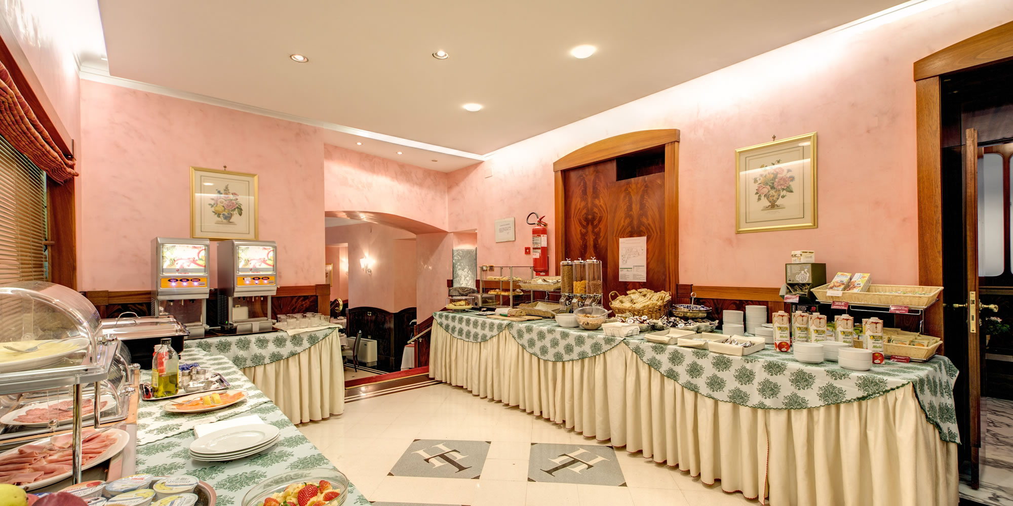 Hotel Tiziano Rome - Food Facilities
